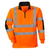 Sweatshirt Rugby Xenon Orange PORTWEST